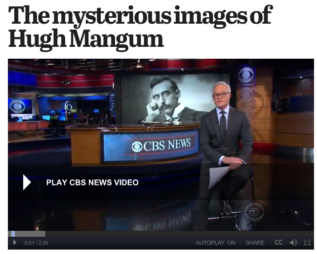 Sarah Stacke on CBS News – The mysterious images of Hugh Mangum