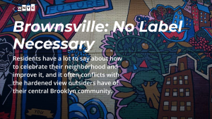 Nick Pilarski and the Brownsville Community Justice Center on WNYC!